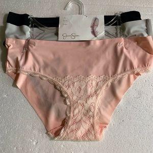 Jessica Simpson Bikini Panties with Lace L